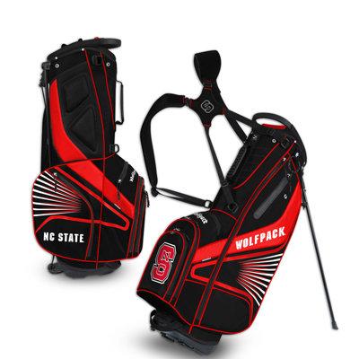 NC State Grid Iron III Golf Bag Stand Bag