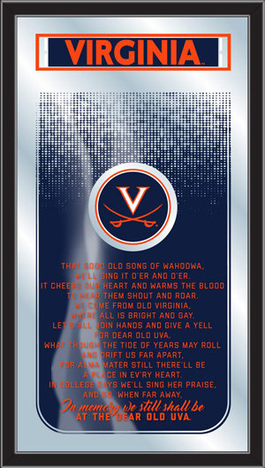 Virginia Fight Song Mirror
