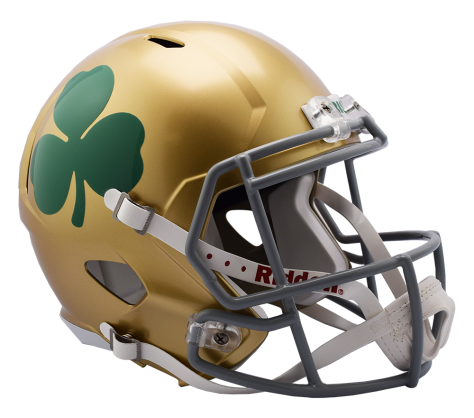 Notre Dame Shamrock Speed Replica Helmet by Riddell