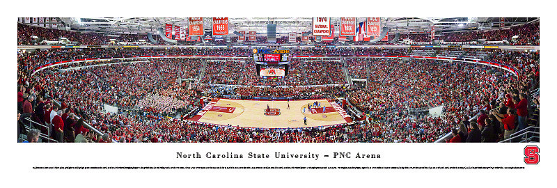 NC State Basketball Panoramic: Win Over UNC!