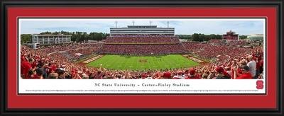NC State Wolfpack Football Daytime Panoramic Print