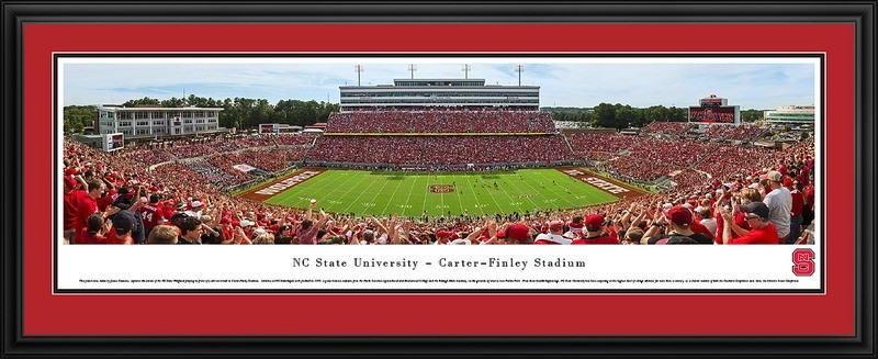 NC State Wolfpack Football Daytime Panoramic Print