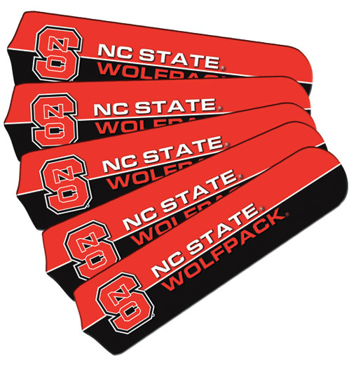 NC State Ceiling Fan Blade Set