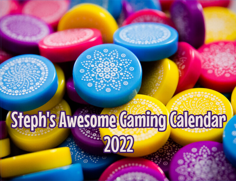 Steph's Awesome Gaming Calendar 2022