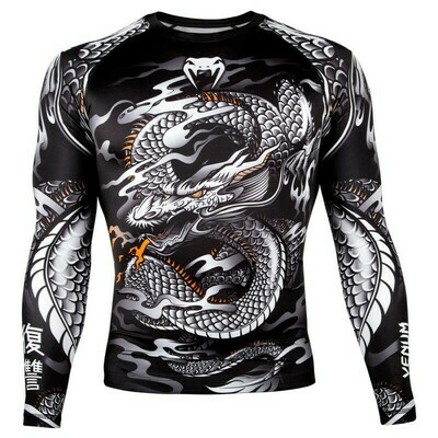 Рашгард с длинным рукавом VENUM Dragon black/white