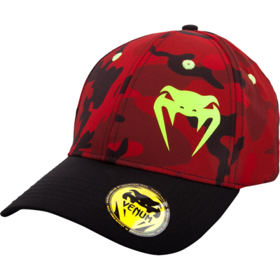 Бейсболка Venum Atmo Red Camo