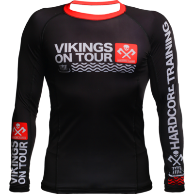 Рашгард с длинным рукавом Hardcore Training Vikings On Tour