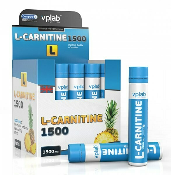 L-Карнитин VP Laboratory L-Carnitine 1500 25мл