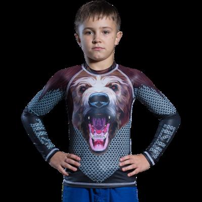 Рашгард детский Jitsu Медведь