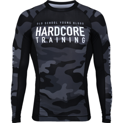 Рашгард с длинным рукавом Hardcore Training Night Camo 2.0