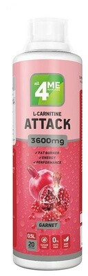 L-Карнитин 4Me Nutrition L-carnitine + Guarana Attack 3600 500мл