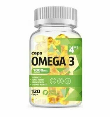 Рыбий жир 4Me Nutrition Omega 3 1000mg 120капс