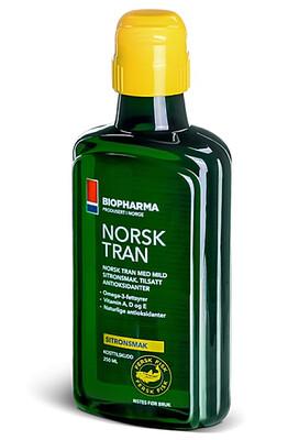 Рыбий жир Biopharma NorskTran Omega 3 375мл