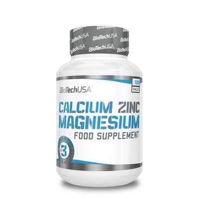 Витаминно-минеральный комплекс BioTech USA Calcium Zinc Magnesium 100таб