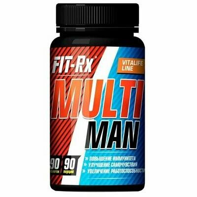 Витаминно-минеральный комплекс FIT-Rx Multi Man 90таб