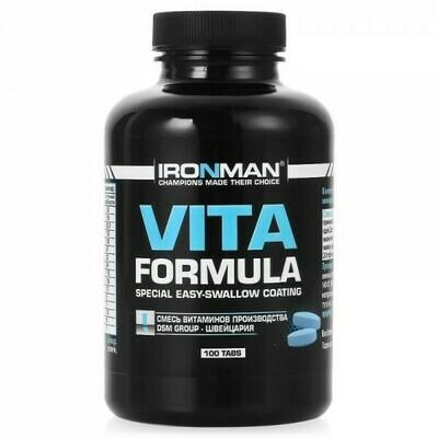 Витаминно-минеральный комплекс Ironman Vita Formula 100таб