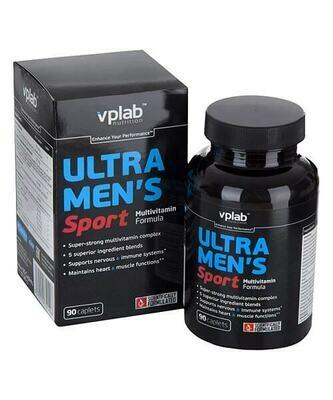 Витаминно-минеральный комплекс VP Laboratory Ultra Men's Sport Multivitamin Formula 90 капс
