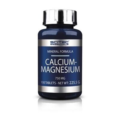Витаминно-минеральный комплекс Scitec Nutrition Essentials Calcium-Magnesium 100таб