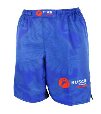 Шорты ММА детские Rusco Sport Blue Herb