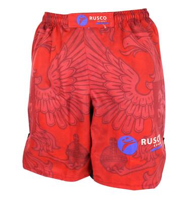 Шорты ММА детские Rusco Sport Red Herb