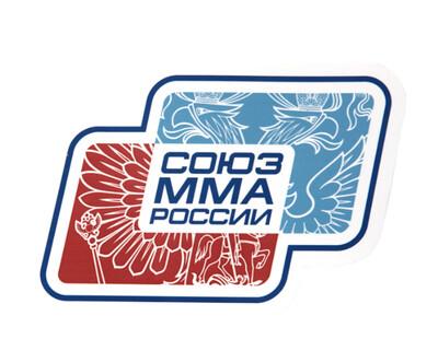 Наклейка Союз ММА России