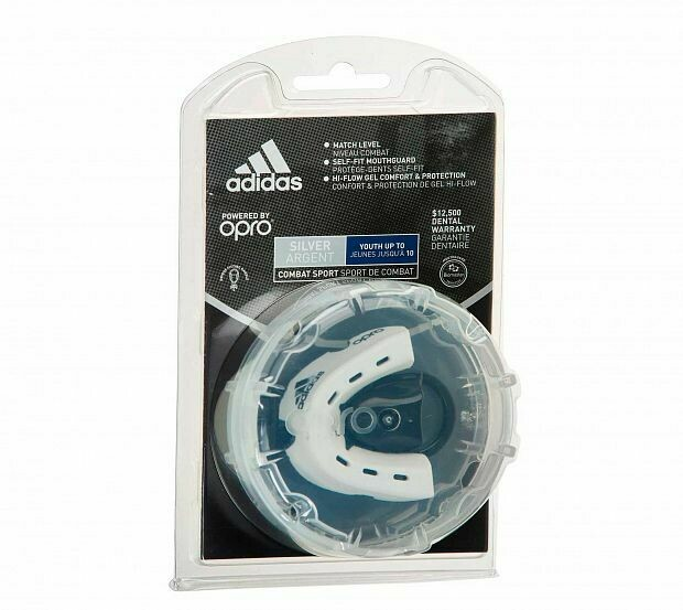 Капа Adidas x Opro Gen4 Silver