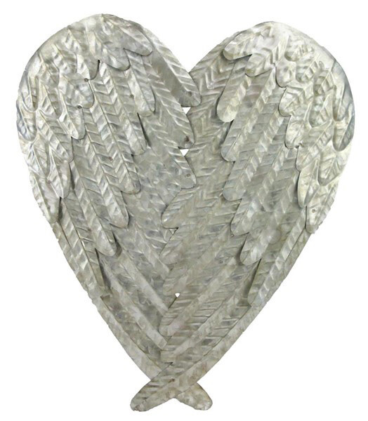 "Angel Wings - Tin - 13.75""H"