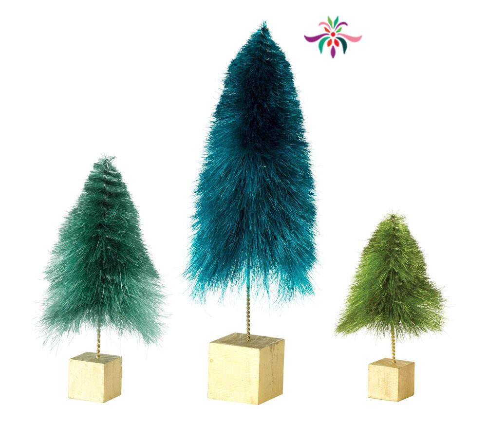 """Mini Tree - Blue - Large - 12.75""""H"""