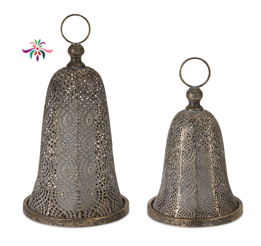 "Metal Bell - Gold - Large - 15""H"