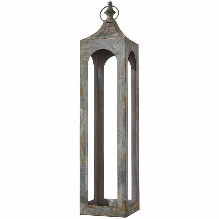 """Lantern - Iron - Large - 29.5""""H"""
