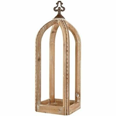 Wood Lantern - Large - 22