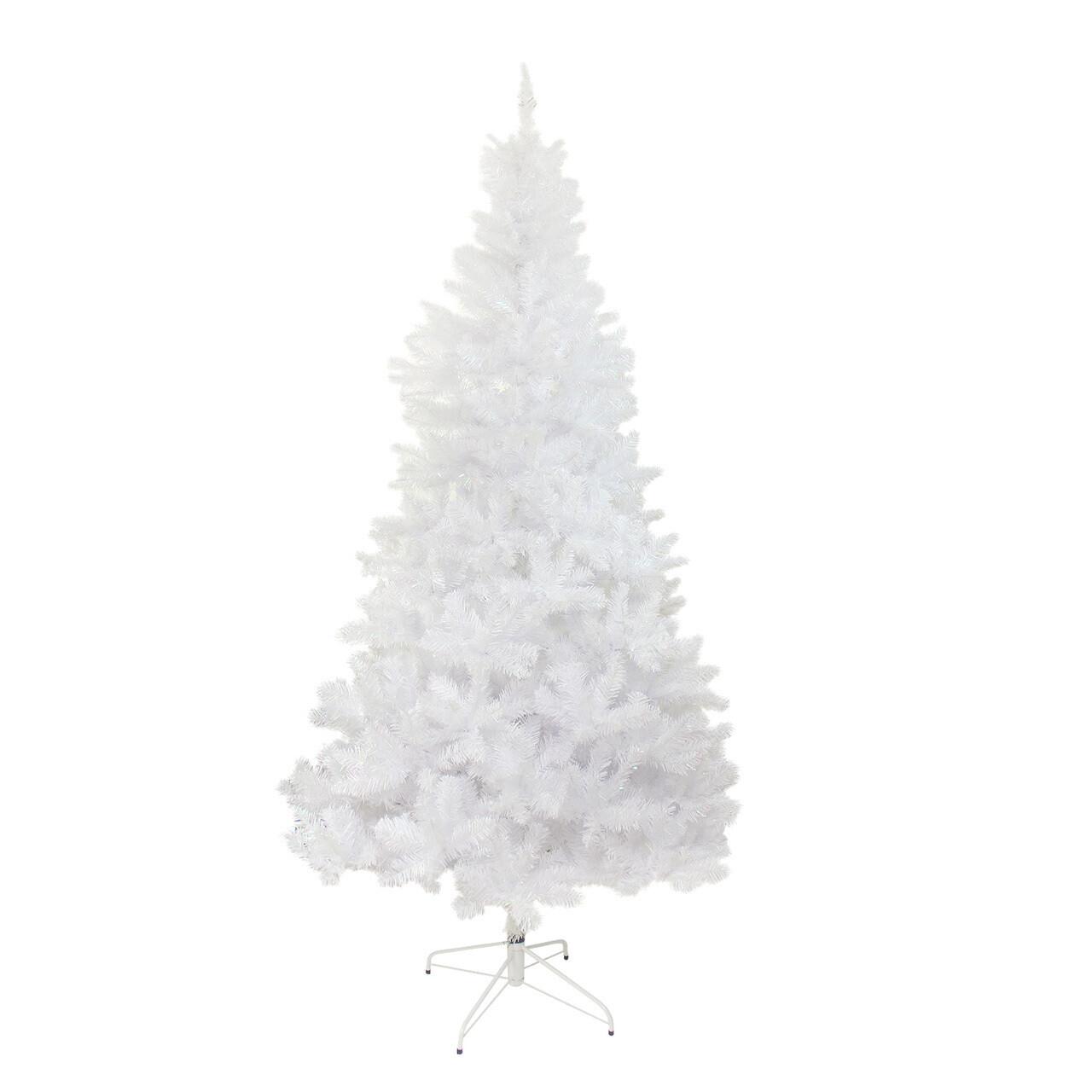 """White Iridescent Tree - 9.5""""H"""