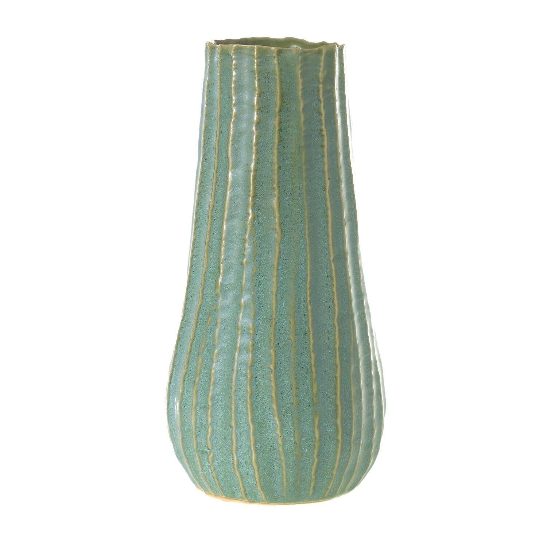 """Palermo Vase - Sage Green - 9.75""""H x 4.75""""W"""