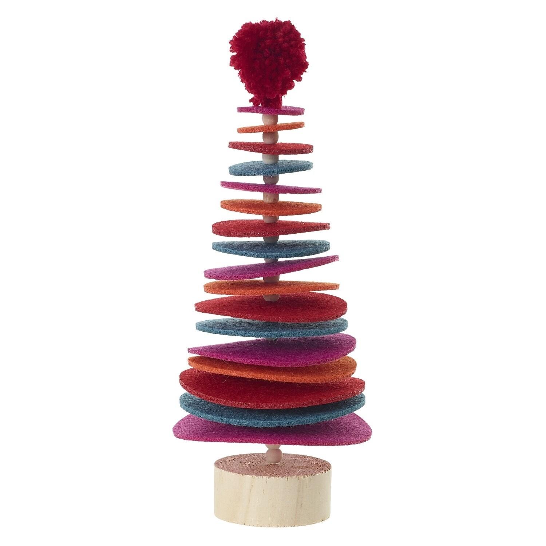 "Sugar Plum Tree - Multicolor - Large - 11""H x 4.75""W"