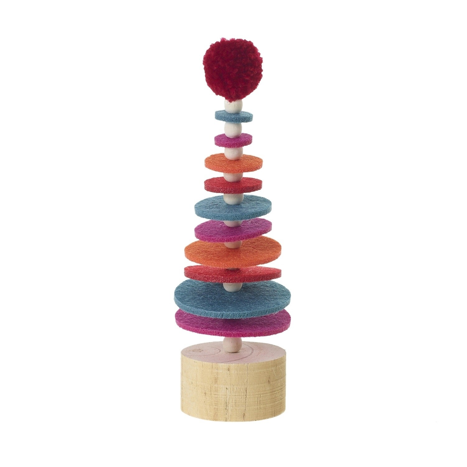 "Sugar Plum Tree - Multicolor - Small - 7.5""H x 2.25""W"