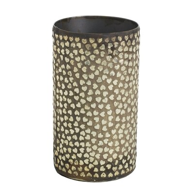 Heartbreaker Vase - Metal - Small - 7.25