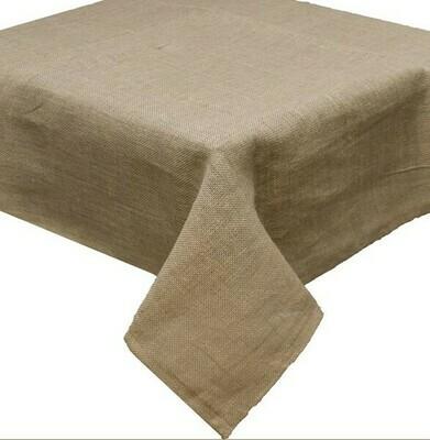 Burlap Tablecloth - Natural - 54