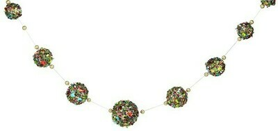 Sequin Ball String Garland - Multicolor - 6'L