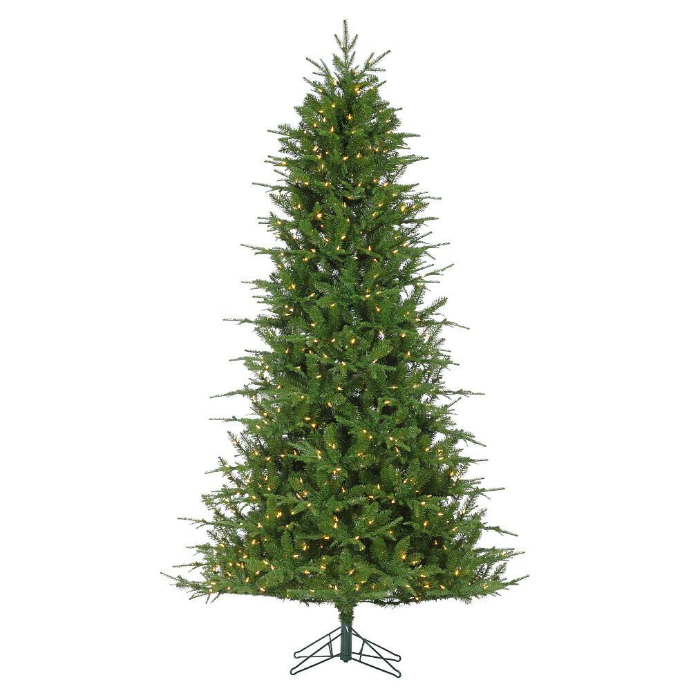 "Green Tree - Mercer Fir - Prelit Warm White - 4.5""H"