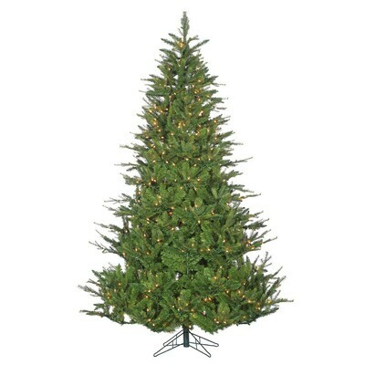 Green Tree - Glenville Pine - Prelit Warm White - 9'H