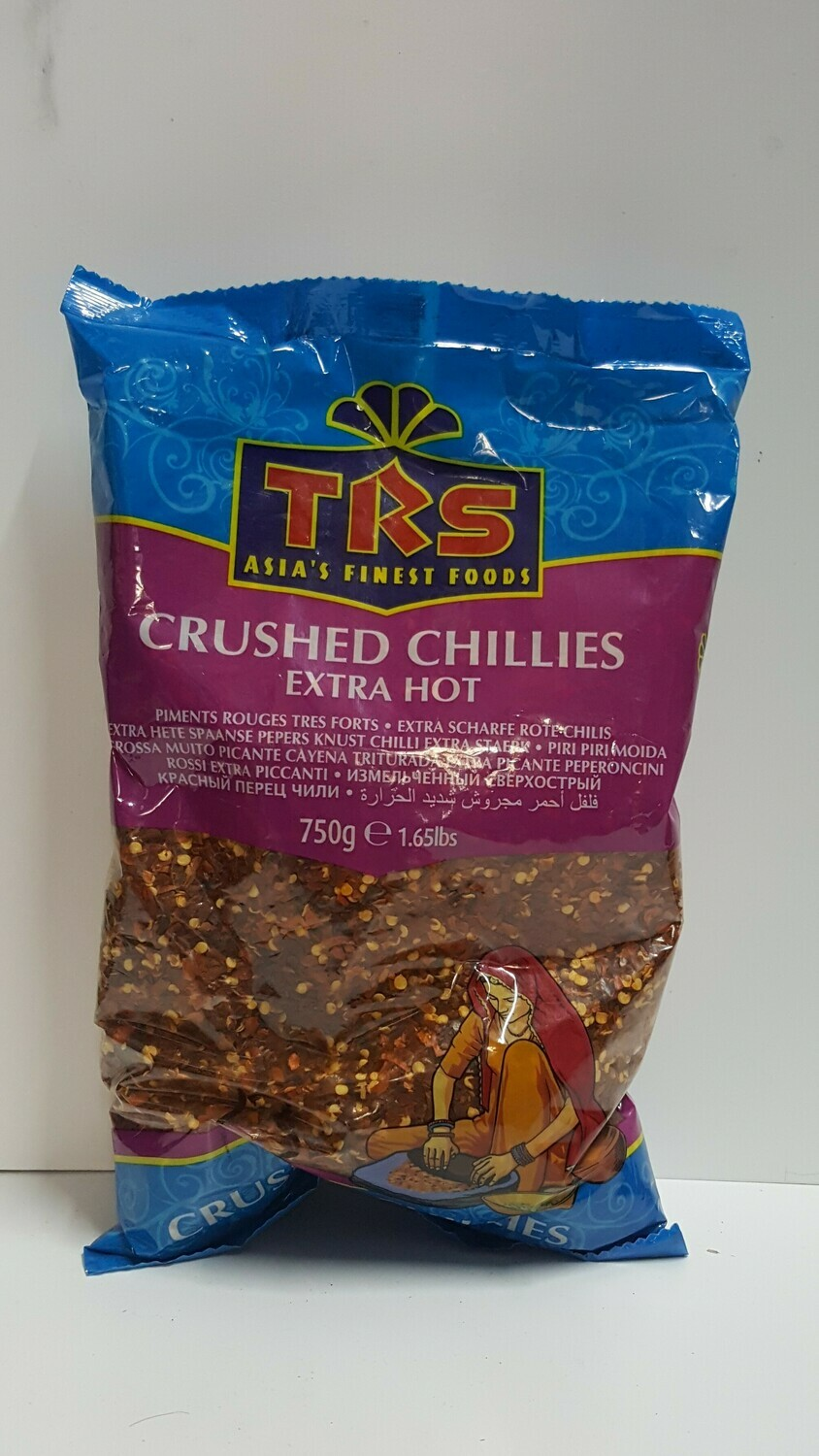 CRUSHED CHILLIE extra Hot. ( TRS ) 750 g