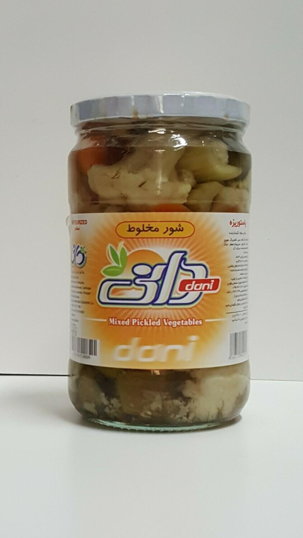Mixed Pickled Vegetables DANI