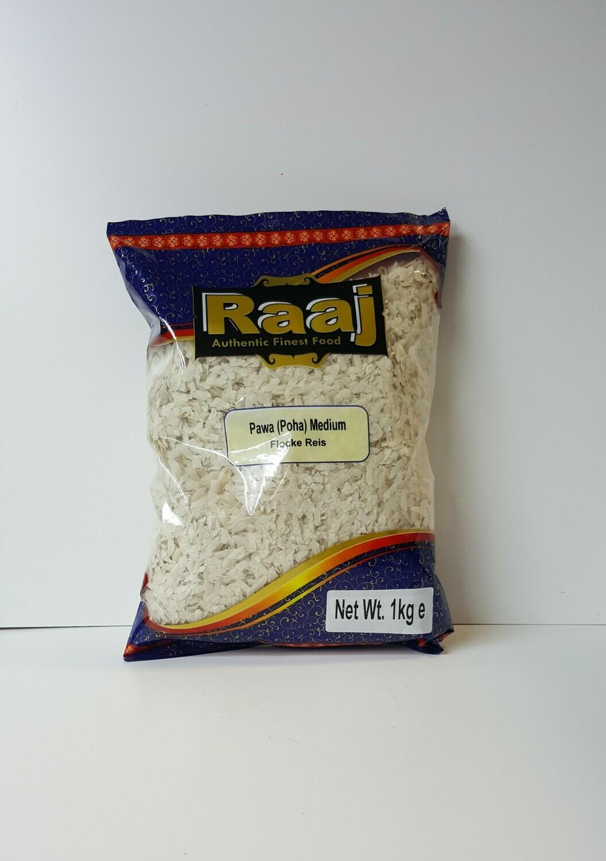 Pawa Medium Flocke Reis RAAJ 1Kg