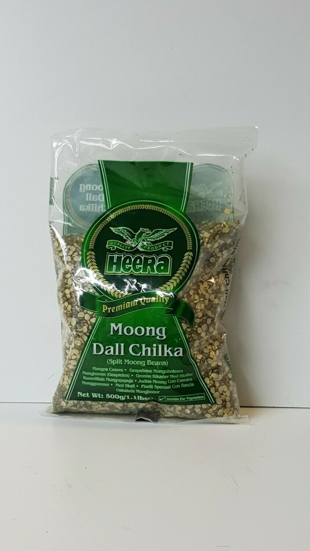 Moong Dall Chilka HEERA 500 g