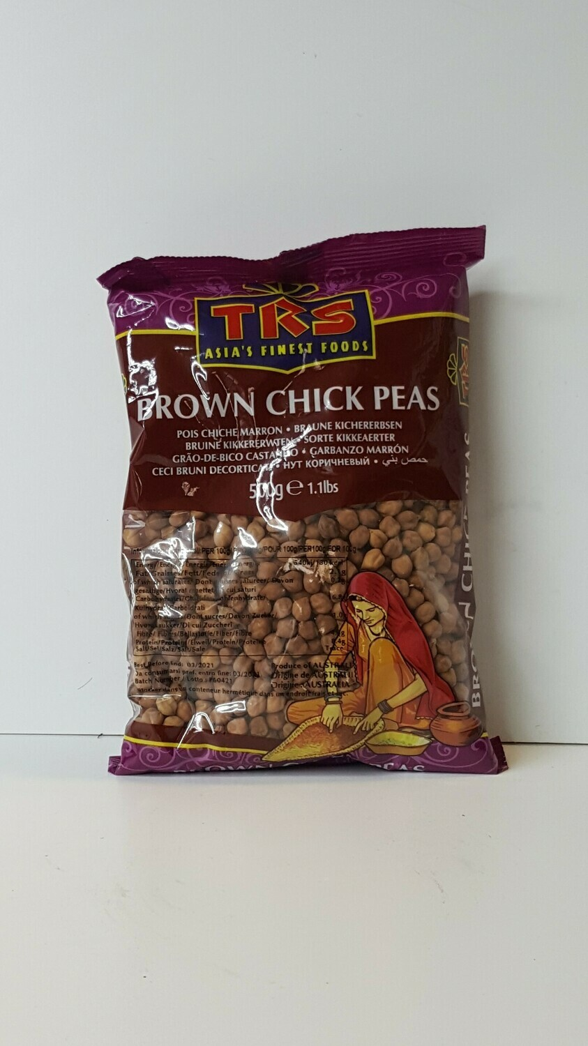 Brown Chick Peas TRS 500 g