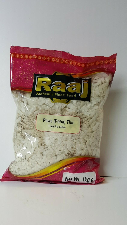 Pawa Thin Flocke Reis RAAJ 1Kg