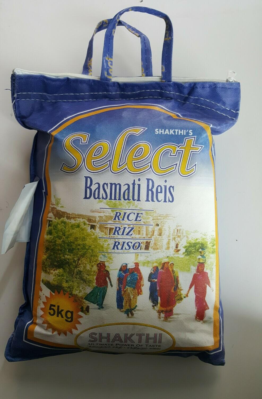 Basmati Reis SELECT 5Kg