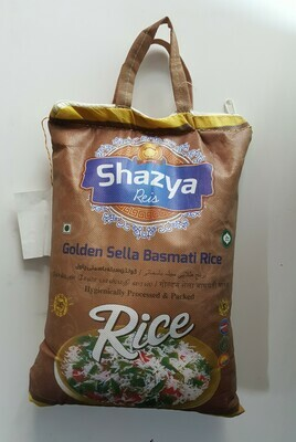 Golden Selle Basmati Rice SHAZYA 5Kg