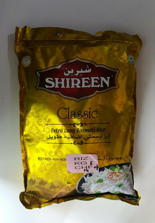 Classic Extra Long Basmati Rice SHIREEN 5Kg