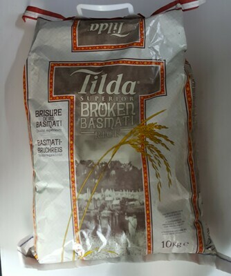 Broken Basmati Rice TILDA SUPERIOR 10Kg